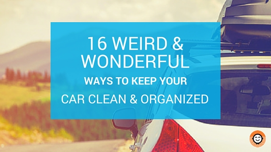 16 weird wonderful ways to keep your car clean organized How to keep your car exterior clean