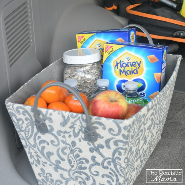Car Snack Basket