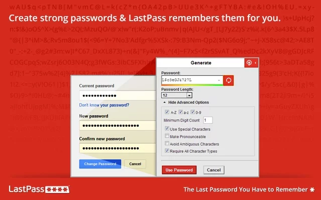 LastPass Browser Extension
