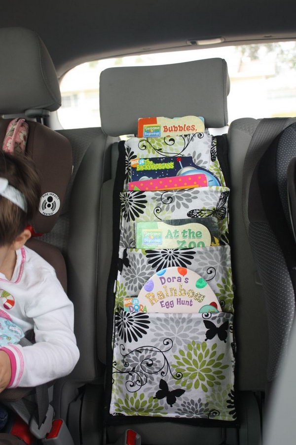 DIY Car Book holder