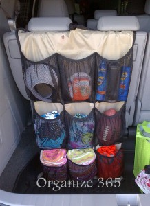 Utilize Your Trunk For Storage. Car Closet