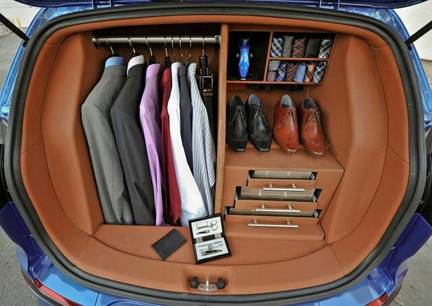 Luxury Car Closet
