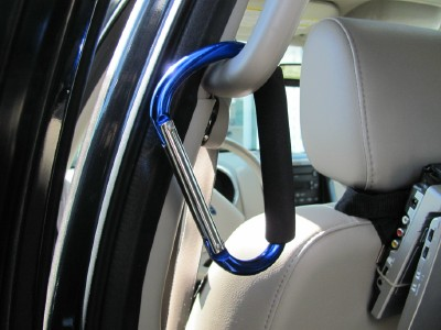 Carabiner for Car Storage
