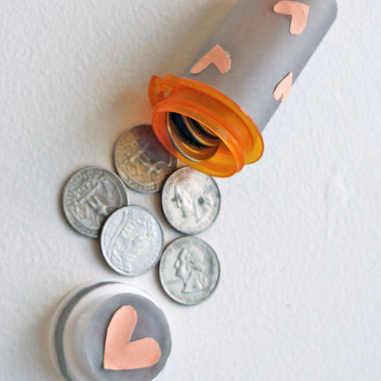 Pill Bottle for Change