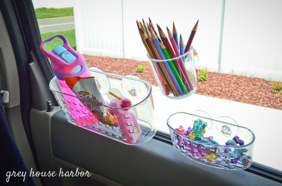 Shower Caddy for storing Kid's activities and toys