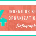 14 Ingenious Kitchen Organization Tips [Infographic] – 2017 Update