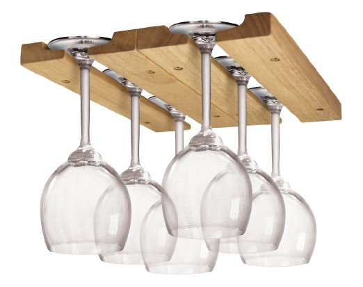 Wooden Wine Glass Rack by Fox Run