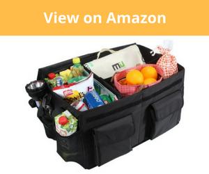 MIU COLOR Foldable Cargo Trunk Organizer Review