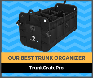 top trunk organizer