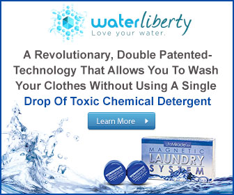 Water Liberty Ad Banner